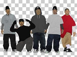 T-shirt Social Group Shoulder Team Hip-hop Dance PNG