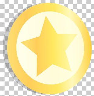 Trademark Symbol Yellow Circle PNG