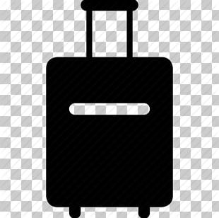 Baggage Computer Icons Suitcase Travel PNG