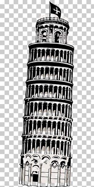 Leaning Tower Of Pisa Eiffel Tower PNG