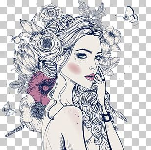 Portrait Flower Stock Photography Illustration PNG