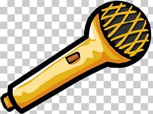Club Penguin Microphone Cartoon PNG