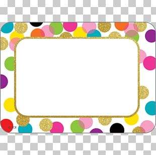 Name Tag Polka Dot Name Plates & Tags Label Sticker PNG