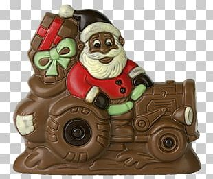 Santa Claus Garden Gnome Christmas Day Tractor Scooter PNG