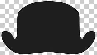Black And White Hat PNG
