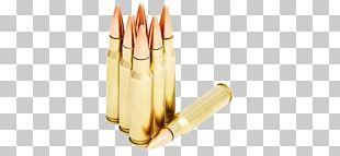 Full Metal Jacket Bullet .308 Winchester Ammunition Grain PNG