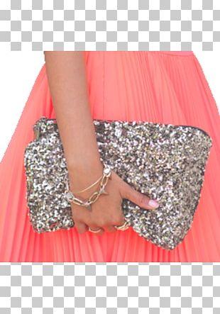 Fashion Sequin Glitter Handbag Haute Couture PNG