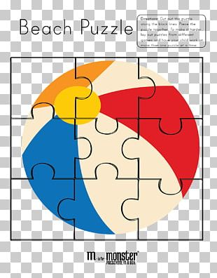 Jigsaw Puzzles Coloring Book Crossword Beach Ball PNG