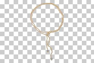Necklace Bracelet Body Jewellery Silver PNG