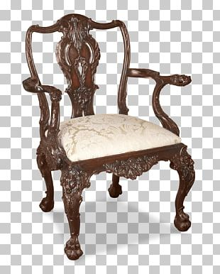 Dining Room Table Chair Antique Furniture PNG