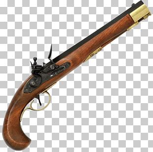 Flintlock Firearm Pistol Weapon Matchlock PNG