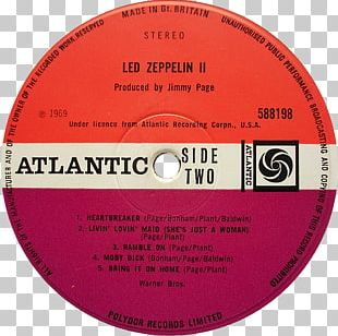 Led Zeppelin IV Phonograph Record Led Zeppelin II Album PNG