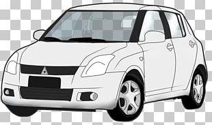 Suzuki Swift Compact Car Mid-size Car City Car PNG