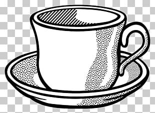 Teacup Coffee Cup Saucer PNG