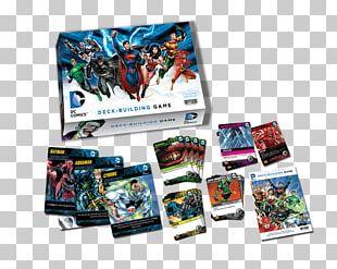 Cryptozoic Entertainment DC Comics Deck-Building Game DC Universe Comic Book PNG