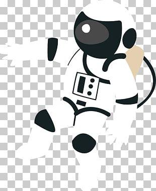 Astronaut Cartoon Universe Illustration PNG