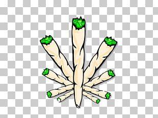 Joint Cannabis Smoking Drawing PNG
