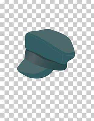 Hat Green Font PNG