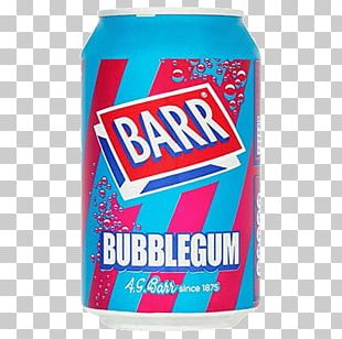 Fizzy Drinks Cream Soda Carbonated Water Chewing Gum Irn-Bru PNG