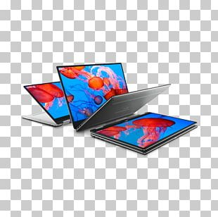 Intel Core I7 Dell Laptop 2-in-1 PC PNG