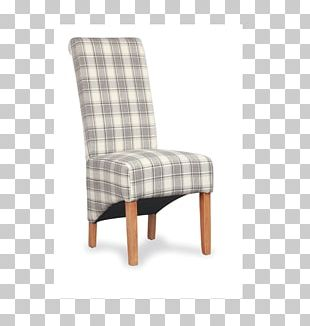 Dining Room Chair Check Slipcover Futon PNG