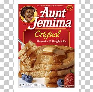 Pancake Waffle Breakfast Aunt Jemima Buttermilk PNG
