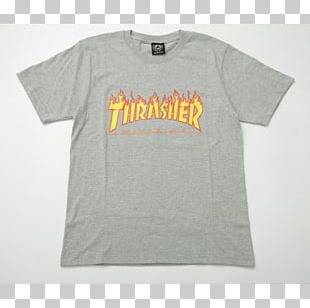 T-shirt Hoodie Thrasher Presents Skate And Destroy Streetwear PNG