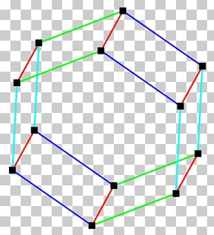 Angle Line Point Hexagonal Prism PNG