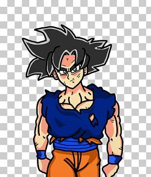 Goku Fan Art Manga PNG