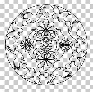 Coloring Book Mandala Drawing Child Geometric Shape PNG