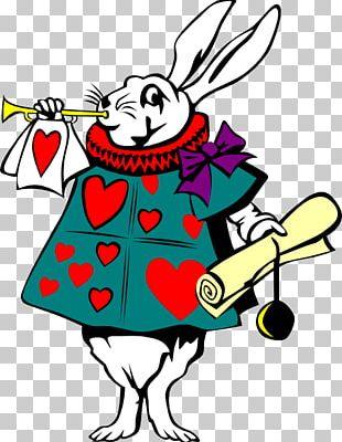 Alice's Adventures In Wonderland White Rabbit Alice In Wonderland PNG