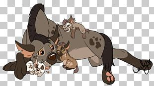 Striped Hyena Lion Banzai Dog PNG