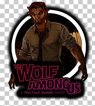 The Wolf Among Us Big Bad Wolf Gray Wolf The Walking Dead Telltale Games PNG