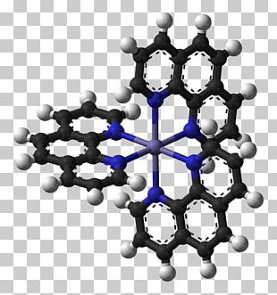 Coordination Complex Ferroin Phenanthroline Redox Indicator Chemical Compound PNG