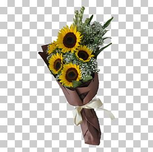 Common Sunflower Flower Bouquet Cut Flowers Sunflower Seed PNG