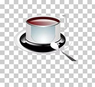 White Coffee Tea Coffee Cup PNG