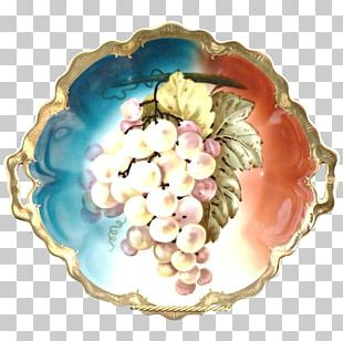 Plate Porcelain Antique Platter Pottery PNG