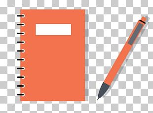 Paper Laptop Pencil Notebook PNG