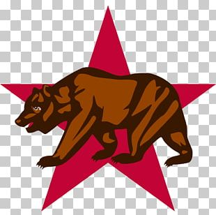 California Republic California CLETS Users Group Flag Of California California Grizzly Bear Sacramento PNG