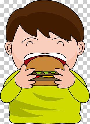 Eating Breakfast Junk Food Healthy Diet PNG