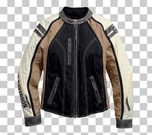 Leather Jacket Harley-Davidson Clothing Motorcycle PNG