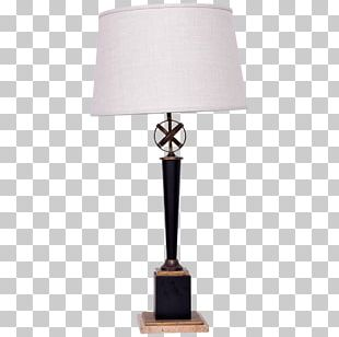 West Elm Modernist Table Lamp Donghia Lighting Brass PNG