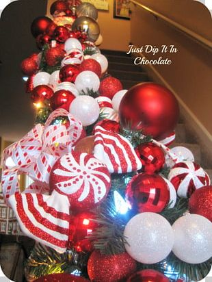 Christmas Decoration Christmas Ornament Candy Cane Christmas Tree PNG