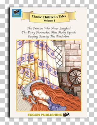 Sleeping Beauty Fairy Tale Short Story Book Child PNG