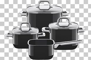 Cookware Silit Pot Set 4-Piece Toskana Pouring Rim Glass Lid Stainless Steel Suitable For Induction Hobs Dishwasher-safe Kochtopf Kitchen PNG