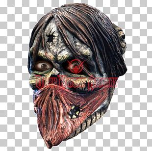 Mask Zombie Halloween Costume Grave PNG