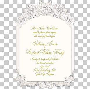 Wedding Invitation Frames Convite Font PNG