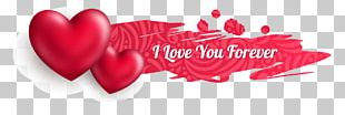 Valentine's Day Heart Web Banner Euclidean PNG