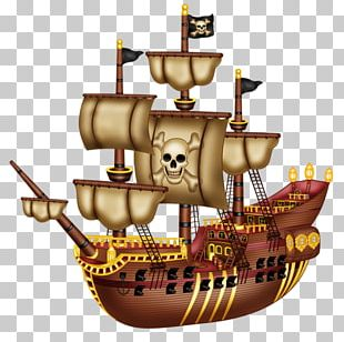 Piracy Pirate Ship Drawing PNG