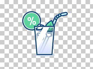 Cocktail Logo Illustration PNG